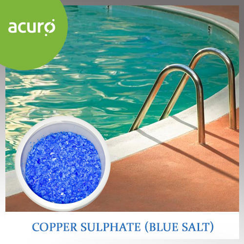 Swimming Pool Chemicals Copper Sulphate Manufacturer