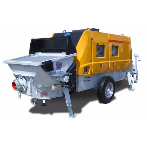 Portable Putzmeister Concrete Pump Rental Services in