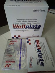 Carica Papaya, Tinospora Cordifolia, Goat Milk Powder & Vitamin E Tablets