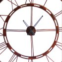 Handcrafted Iron Round Wall Clock