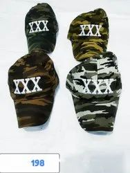 Funky Cotton Military Caps And Hats, Stylish Hats, Code 198