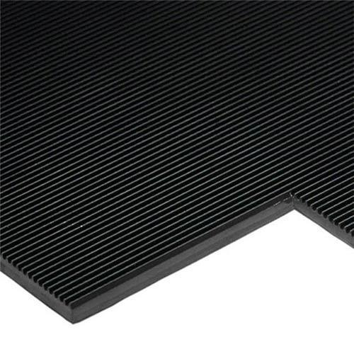 Black Electrical Insulating Rubber Mat Rs 1250 Meter
