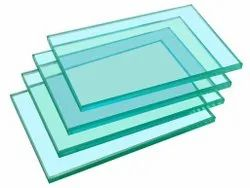 Green Transparent Toughened Safety Glass