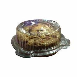 Plastic Round Cake Container
