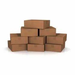 Cardboard Rectangular Brown Corrugated Packaging Box