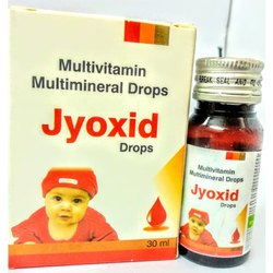 Multivitamin and Multimineral Drops, Packaging Size: 30 Ml, Jyoxid