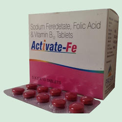 Sodium Feredetate, Folic Acid & Vitamin B12 Tablets