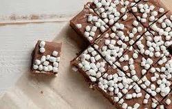 KLF House Piece Fudge Walnut Handmade Chocolate with Gift Box