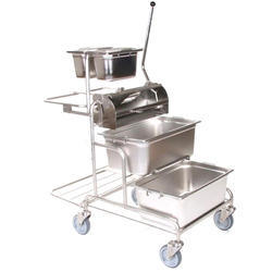 Sanipure SS304, SS304L, SS316 & SS316L Mopping Trolley, Handle Type : Twist