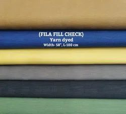 Fila Fill Check yarn dyed