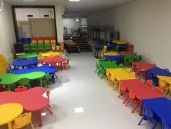 Fiber Nursery Play School Furniture
