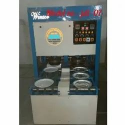 Double Conveyor Roll Automatic Paper Plate Machine