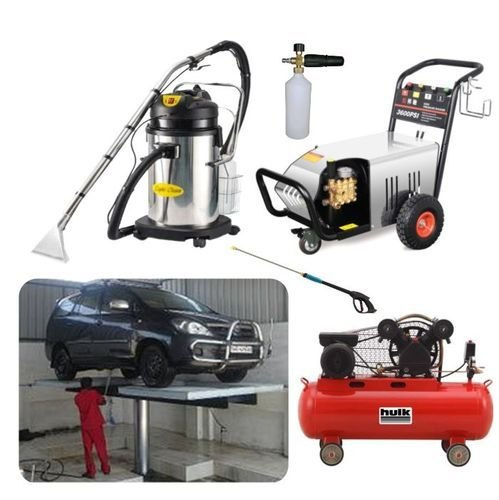 Cleaning Equipment & Accessories - Car Wash Equipment Manufacturer from Noida