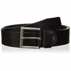 Woodland BT 1054004 Black Men's Leather Belt