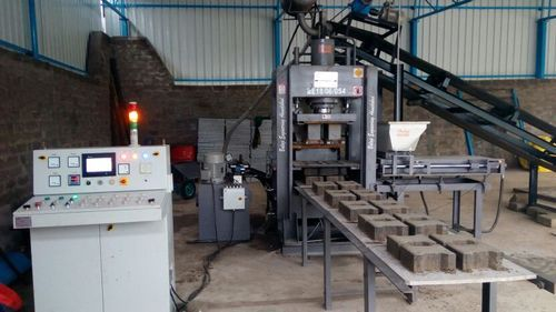 Automatic Bricks & Paver Block Making Machine (BEW - FA864)