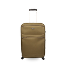 Khaki Polyester Fly Ion Trolley Bag, Size: M, S