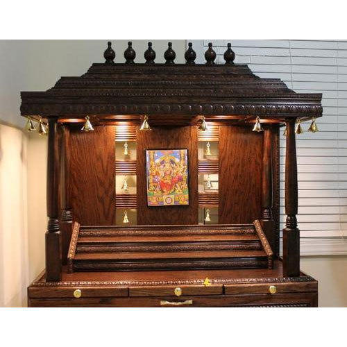 Designer Wooden Temple At Rs 5000 Unit
