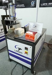Semi Automatic Napkin Packing Machine, Speed: 10-15 bags/min