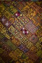 Indian Embroidery Handmade Patchwork Bed Cover Throw