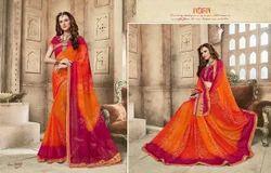 Kessi Bandhej Designer Bandhani Saree