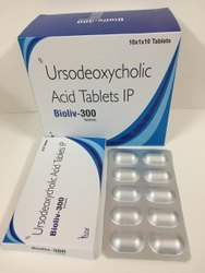 Ursodeoxycholic acid IP 300mg tablet