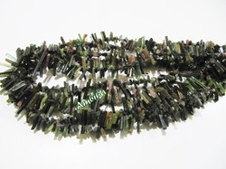 Natural Multi color Tourmaline Pencil Bead