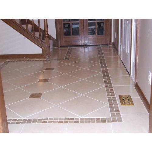 Ceramic Designer Floor Tiles, Rs 40 /square feet Kiran Sales | ID: 18450962762