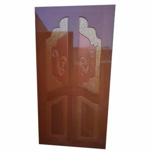 Brown Interior Teak Wood Carving Door, for Home
