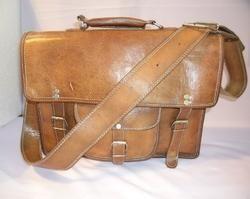 Genuine Leather Briefcase Shoulder Bag