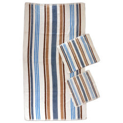 Stripe Face Towels