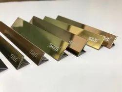 PVD Titanium Coated T Profiles