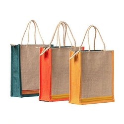 Brown Plain Corporate Jute Bag for Employees Clients, for Shopping
