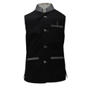 Kids Black Nehru Jacket