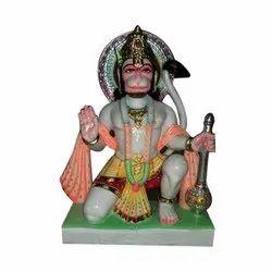 Ceramic Hanuman Ji Murti
