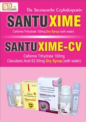 Cefixime 100mg  Lacticbacillus 30ms / 5ml DRY SYRUP
