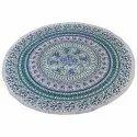 Mandala Floral Round Center Table Cloth