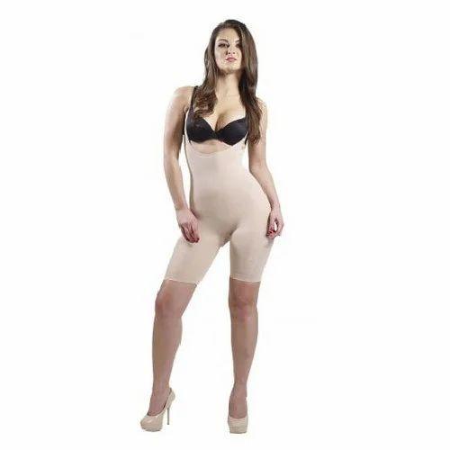 9e03e38c1f3c6 Omtex Brown Velvet - Full Body Shaper - Nude