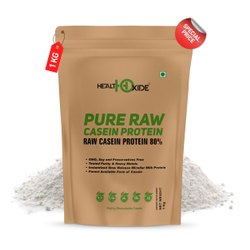HealthOxide Pure Raw Casein Protein Unflavored 1 kg