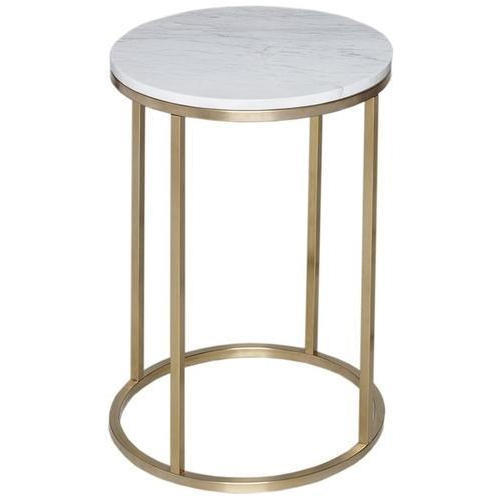 Brass And Marble Table   Brass Martini Side Table Manufacturer From  Moradabad