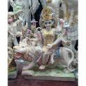 2 Ft Marble Durga Maa Statue