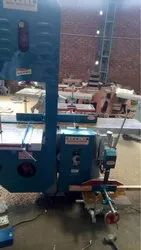 Wood Plainer Attached Bandsaw and Chain Machine
