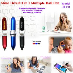 Mind Divert 4 in 1Multiple Ball Pen H-011
