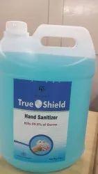 Sanirizer Hand sanitizer, Packaging Type: Jar, Packaging Size: 5 ltr jaar