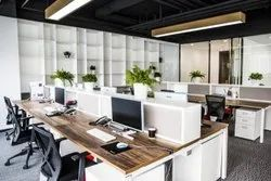 Office Interior, Work Provided: Wood Work & Furniture