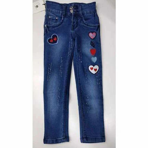 c0e687969d Denim Embroidery Party Wear Kids Jeans