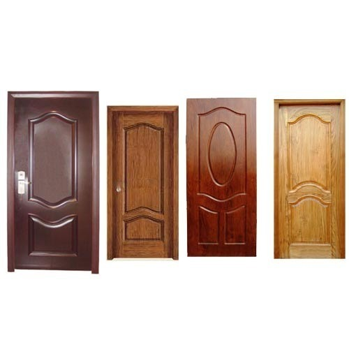 Ply doors plywood doors design hdf mdf moulded for Plywood door design