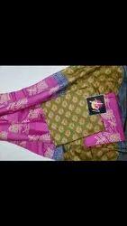 Ladies Katan Silk Unstitched Suit
