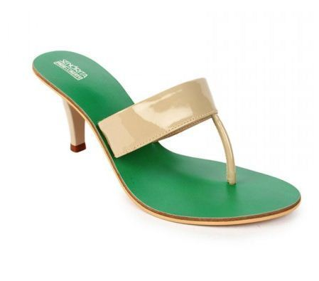 96034d21464d2a Fashion Shoes - Senorita Womens Green Thong La 0948 Retailer from Chandigarh