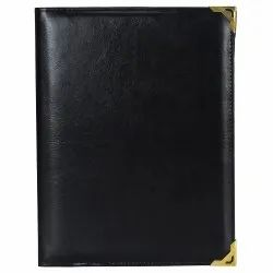 Leather Menu Card Holder