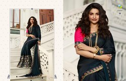 Vinay Meenakari Saree Designer Wear Saree Wedding Wear